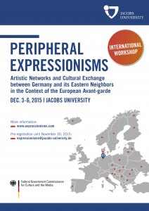 peripheral expressionisms poster